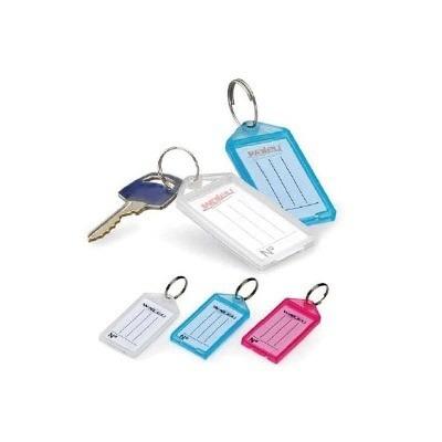 100 chaveiros organizadores de chaves com etiquetas
