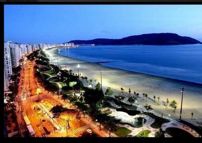 Alugo Ap Temporada Frente A Praia Santos