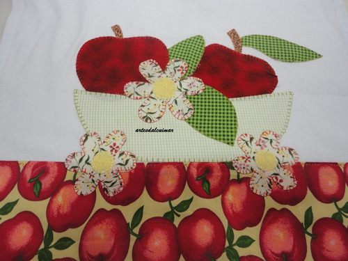 12 panos de prato patchwork