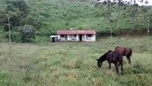 Ibiuna Sitio 2 Alqueires,casa, Luz,pasto,rico Em Agua