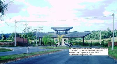Lote 800m2, Cond.fechado,a Poucos Kms. Do Centro De Sorocaba