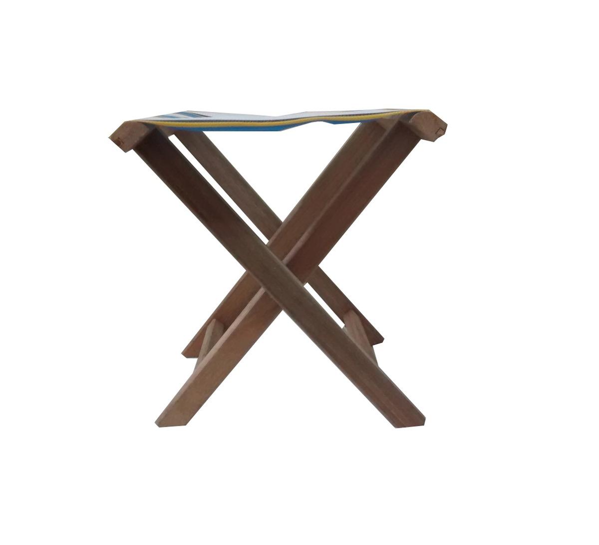 duas) Banquetas Cadeiras Dobráveis Camping De Madeira R$ 77 99  #244D70 1200x1093