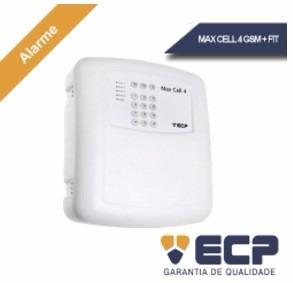 Central Alarme Casa Residencial Ecp Max Tecnologia Gsm Cell4