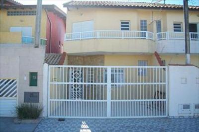 Sobrado Residencial À Venda, Vilamar, Praia Grande - So0098.