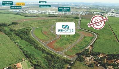 Loteamento Industrial Uninorte 2, Loteamento Distrito Industrial Uninorte Em Piracicaba - Codigo: Te0159 - Te0159