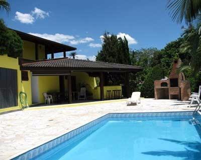 Casa Alto Padrão Em Vinhedo Condomínio 5300m²at Com 400m²ac