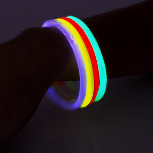 500 pulseiras neon ( tubo ) para festas, casamentos, etc