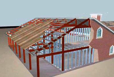 Casa 180m2 - 3 Qtos - Pre-fabricada - Kit Estrutura Em Aço