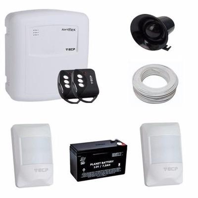 Alarme Para Casa Comercio Com 2 Sensores De Presença Bateria