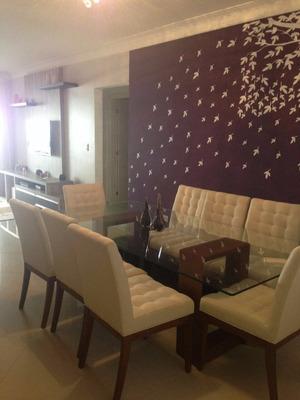 Apartamento 135 M² Mobiliado - Condomínio Spazio Del Mare