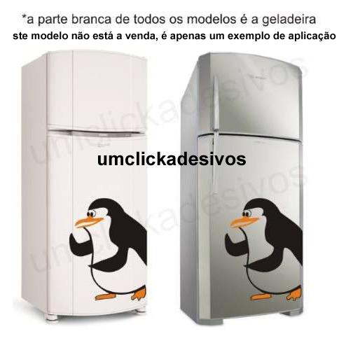 Aparador Em Mdf Com Gaveta ~ Adesivo Geladeira Casal Pinguim De Madagascar 21 R$ 60