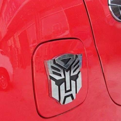 adesivo tuning metal transformers autobot emblema