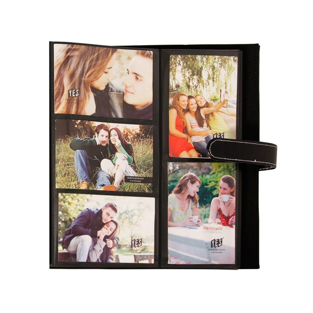 lbum de fotos cartonado preto 400 fotos 10x15 r 89 00. Black Bedroom Furniture Sets. Home Design Ideas