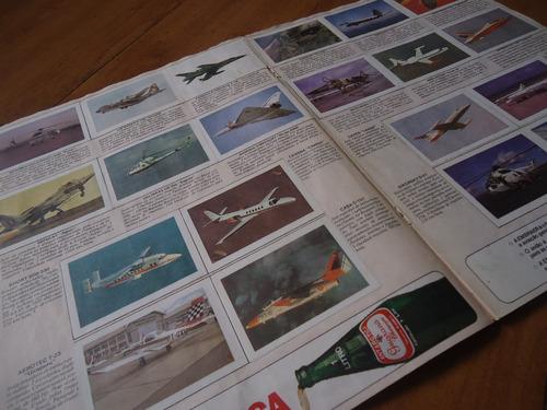 álbum o mundo maravilhoso da aviação - embraer - antarctica