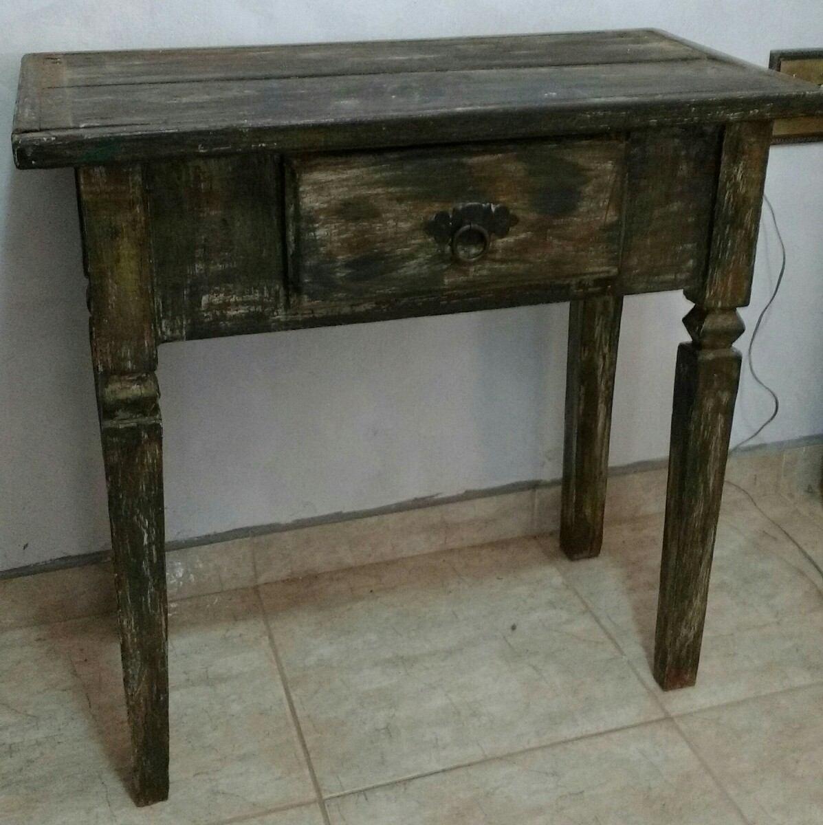 Antigo Aparador Madeira Decoração Gaveta R$ 550 00 em Mercado  #2D2C1E 1197x1200