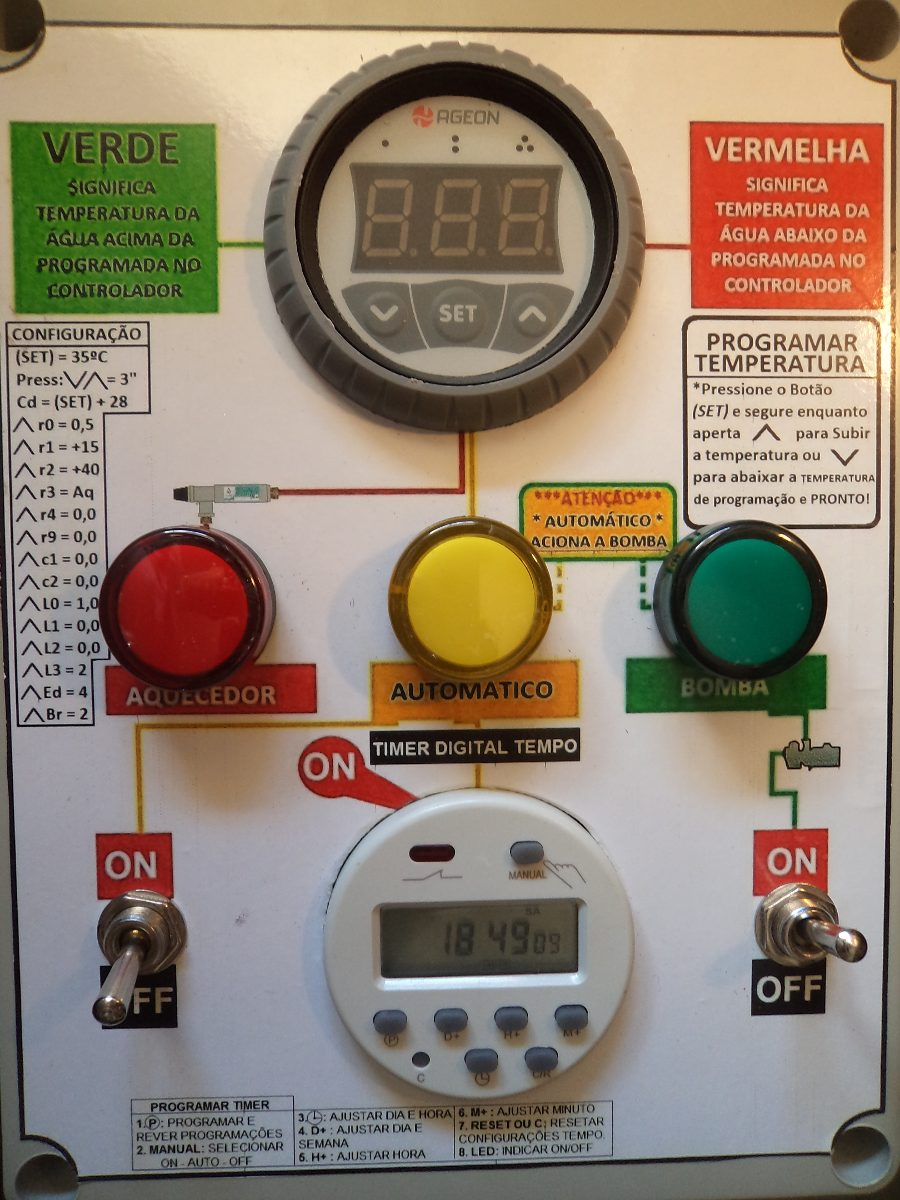 Aquecedor e ionizador autom tico de piscinas at 80 for Ionizador para piscinas