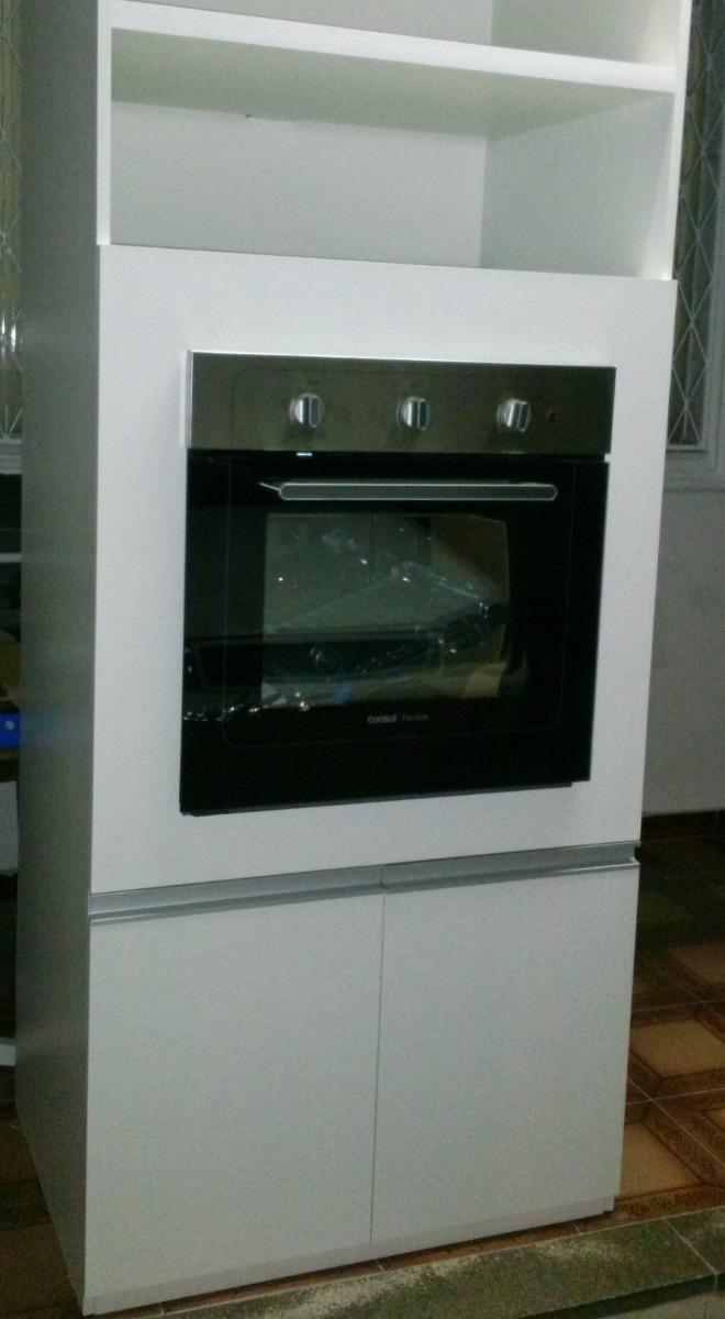 Aparador Grande Para Tv ~ Armário De Cozinha Em Mdf Para Embutir Forno Consul R$ 1 199,00 em Mercado Livre