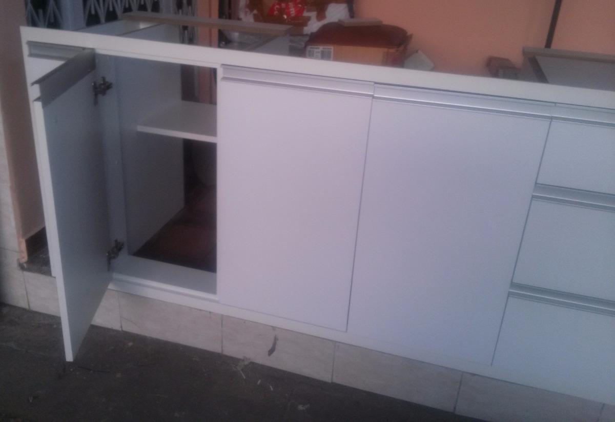 Armário De Cozinha Embutir Sob A Pia  R$ 1800,00 em Mercado Livre -> Armario De Banheiro Para Embutir