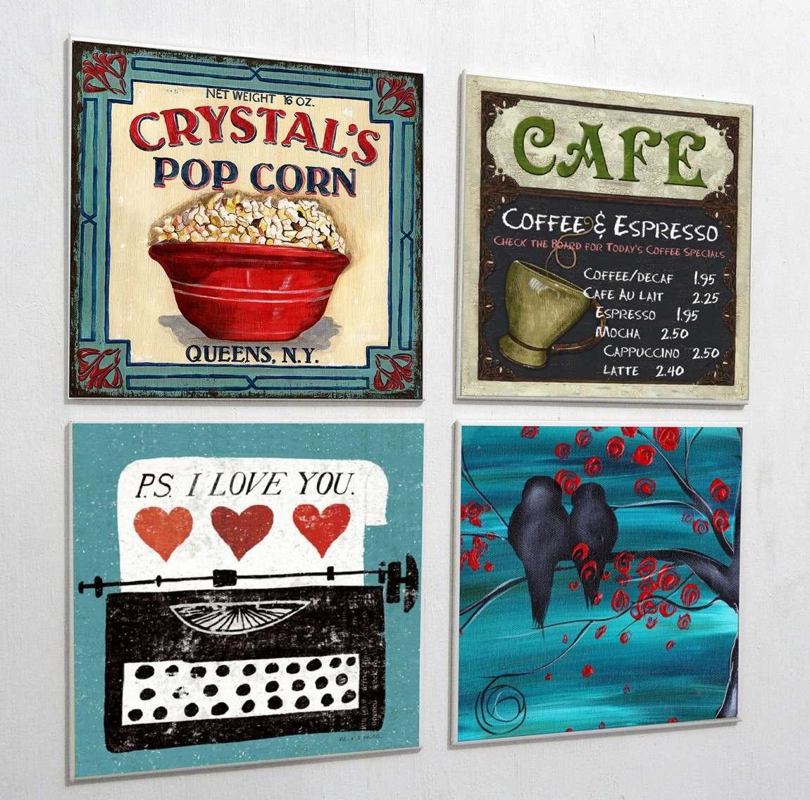 Azulejo Decorados Temas Retro Vintage R$ 9 00 em Mercado Livre #AE211D 1150x1136 Banheiro Com Azulejo Retro