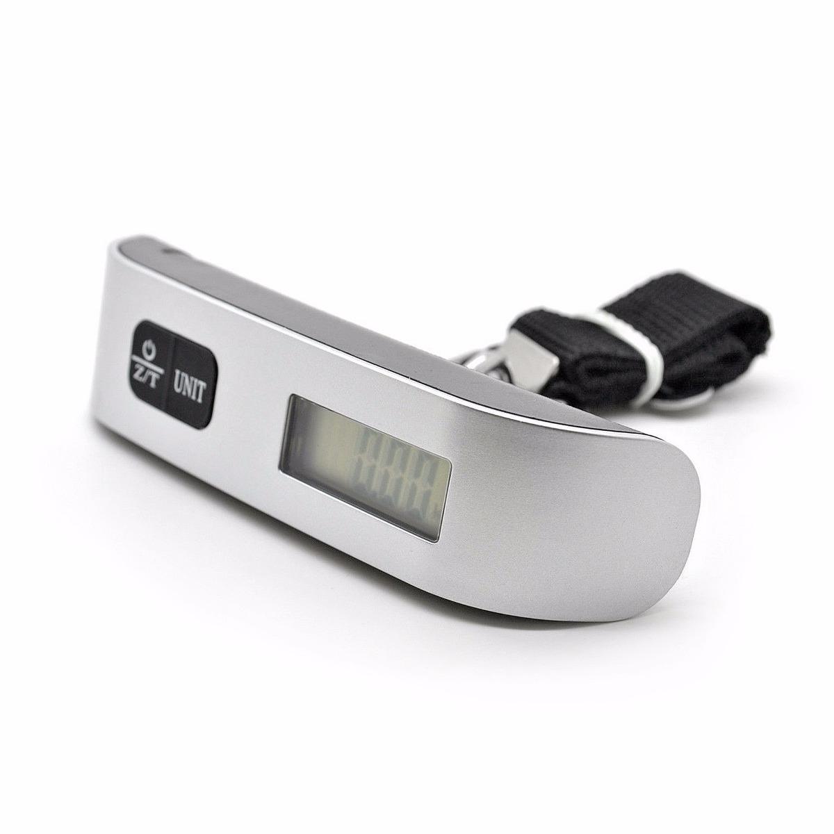 balança digital bolsa bagagem mala mão e termômetro lcd 50kg #6C6A5F 1200x1200 Balança De Banheiro Digital Mercado Livre