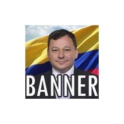 banner 80x60 cm para campanha política