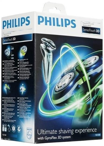 barbeador philips sensotouch 3d rq1260 á prova dágua