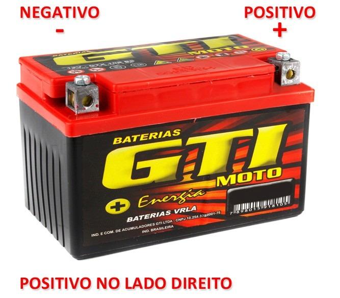 bateria gti 4bs 4ah titan ks biz es bros ks gti alta