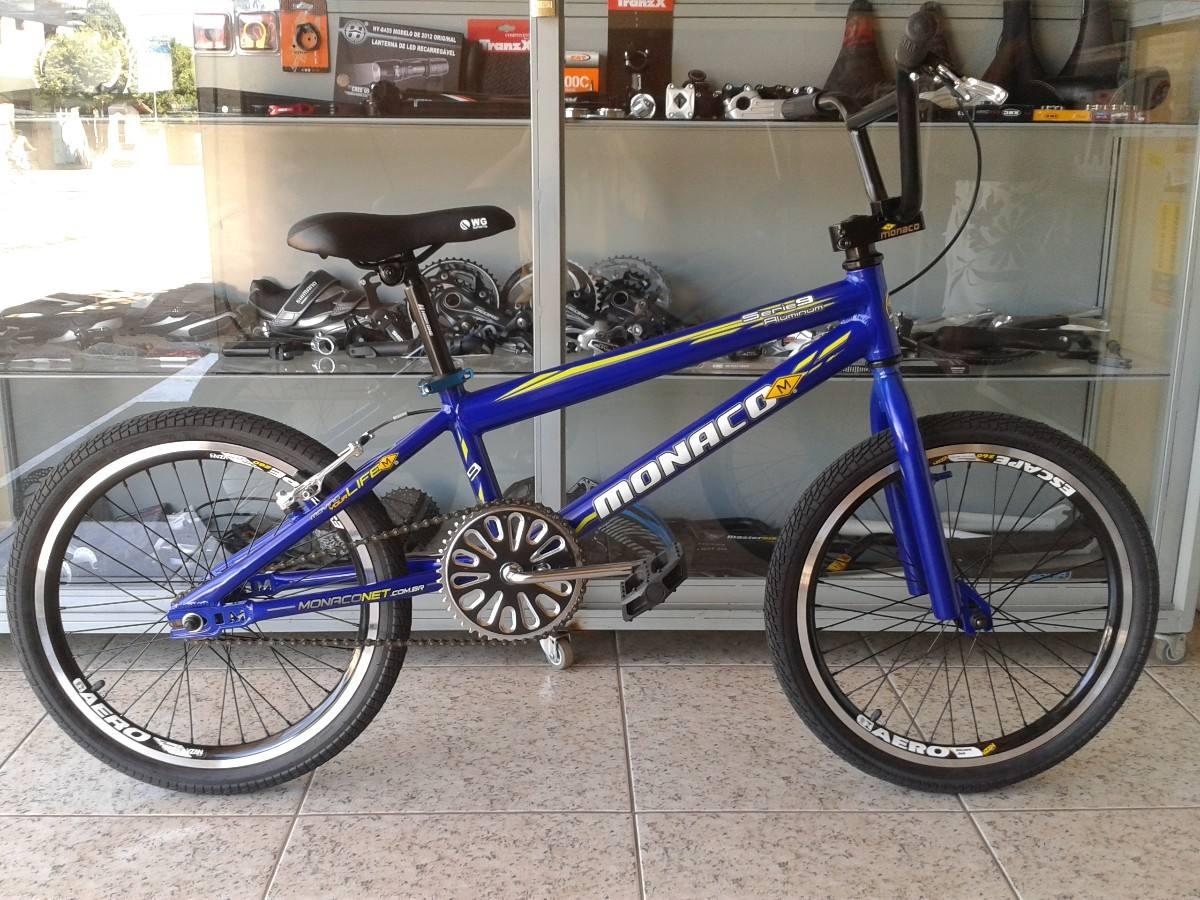Bicicleta Bike Aro 20 Bmx Monaco Cross Tipo Ness Black Jack - R$ 799