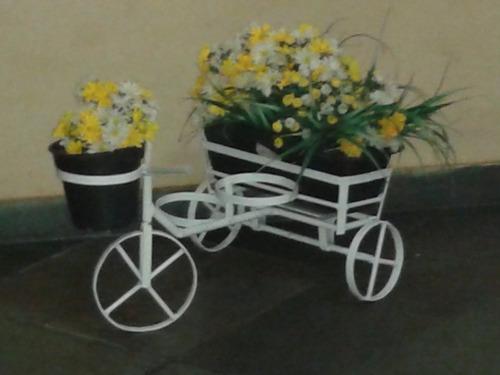 Bicicletinha De Ferro Para Enfeite De Jardim – R$ 69,99 Em Mercado ~ Enfeites Para Jardim De Ferro