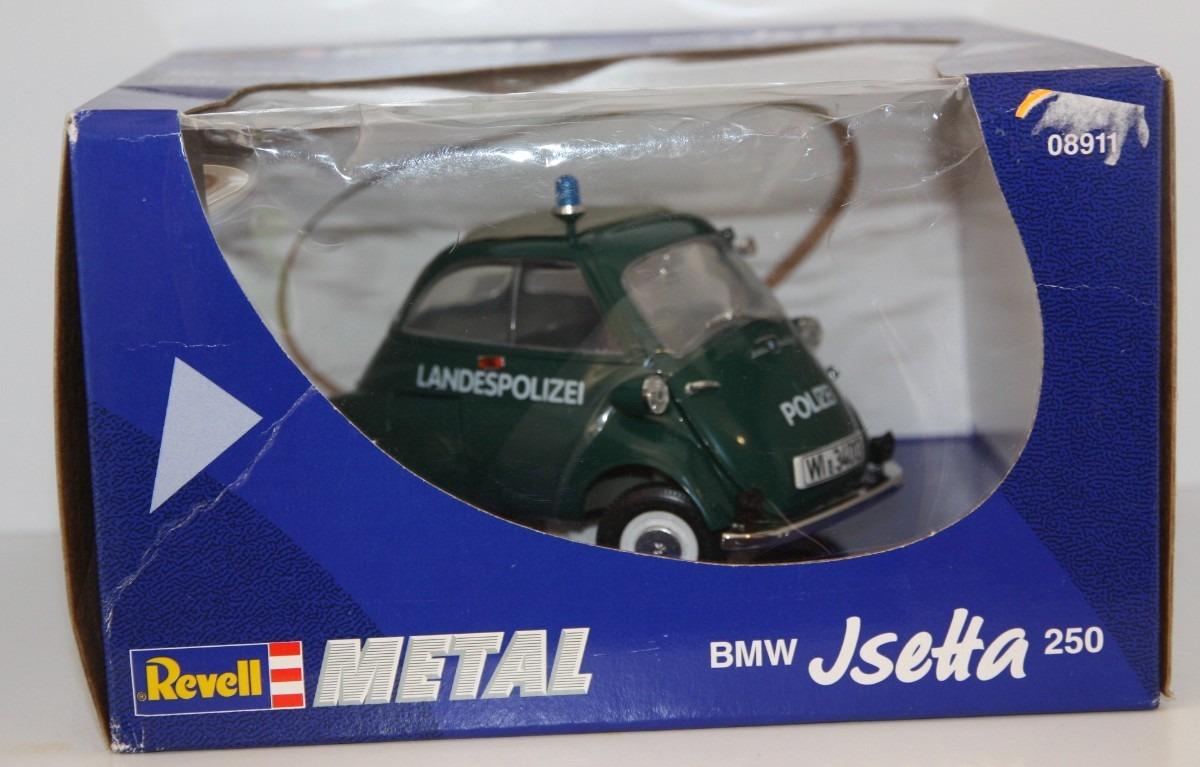 Bmw Isetta 250 Landespolizei 1 18 Revell 08911 Raridade