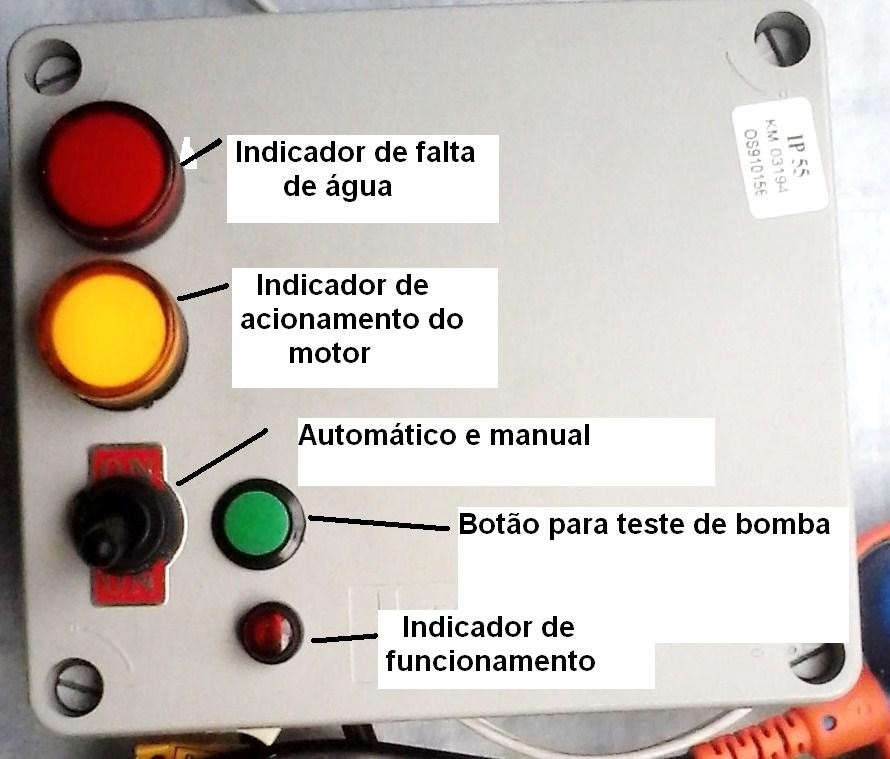 Bomba De Gua Comando Autom Tico E Manual R 249 00 Em