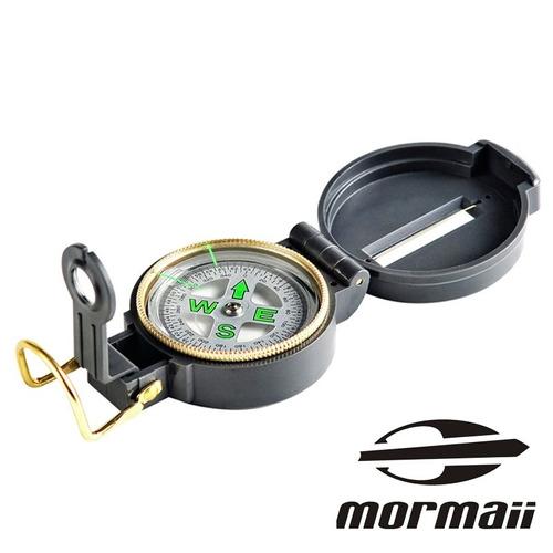 bússola portátil mormaii camping estilo militar caça antenas
