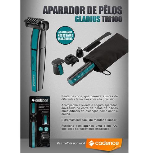 Aparador Em Baixo Da Janela ~ Cadence Tri100 Aparador De Pelos Gladius A Bateria R$ 48,00 em Mercado Livre