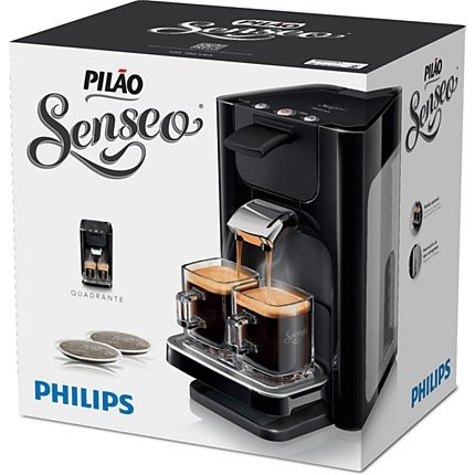 cafeteira eletrica philips senseo quadrante 2 xicaras nova r 429 99 em mercado livre. Black Bedroom Furniture Sets. Home Design Ideas