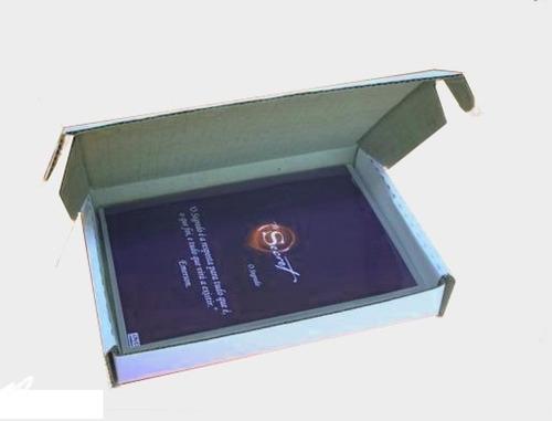 caixa de papelão para sedex, encomendas para dvd 20x14,5x3cm