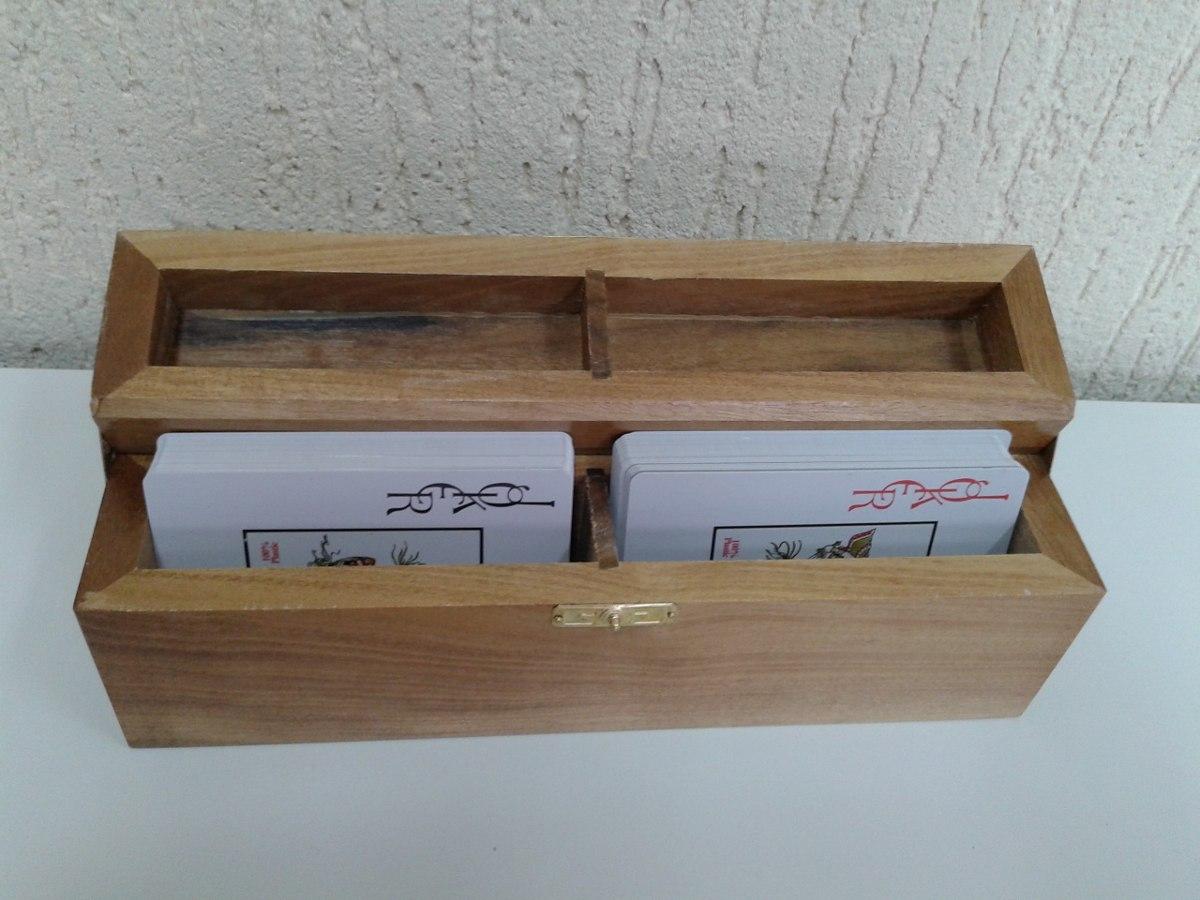 Caixa Estojo Para Cartas Baralho R$ 40 00 em Mercado Livre #624935 1200x900