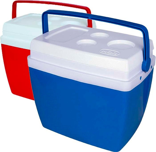 Caixa Térmica 34 Litros Cooler Com Alça Mor