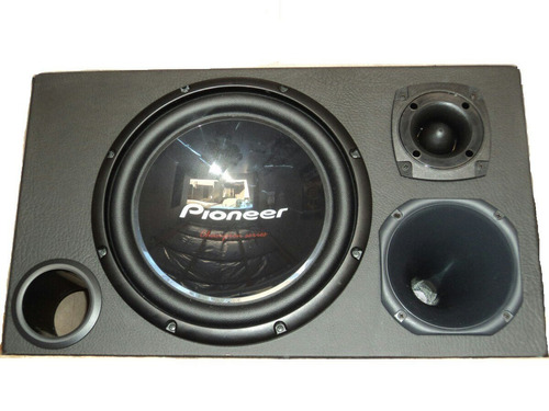 caixa trio pioneer mais potencia e qualidade tsw309 d4/s4