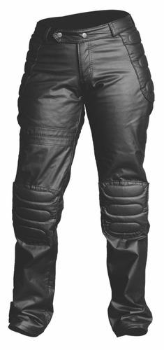 calça em korino motociclista augustus couros corino moto