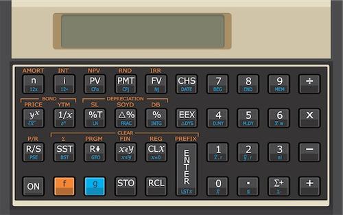 calculadora hp 12c gold financeira   capa   manual