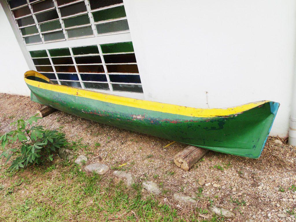 Canoa De Pesca Caiçara Em Madeira Nobre 4 5m R$ 4.500 00 em Mercado  #C2B109 1024x768