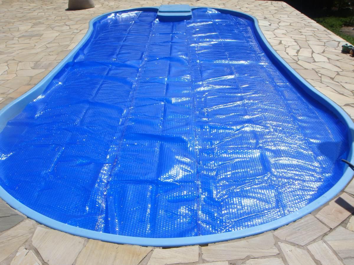 Capa t rmica 2m x 3m para piscinas r 85 68 em mercado livre for Lona termica piscina
