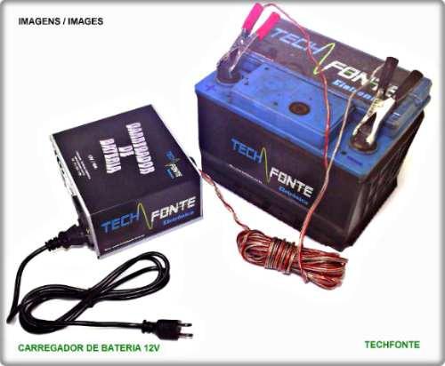 carregador de baterias 10a 12v carregador bateria automotivo