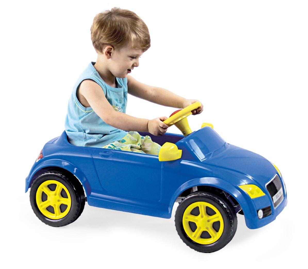 Carro passeio pedal infantil modelo audi tt azul for Homeplay