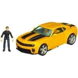 carro robo transformers bumblebee e sam - human alliance lv3