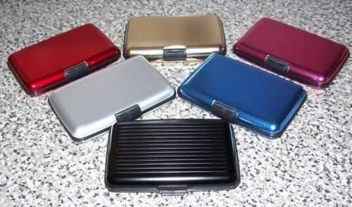 carteira em alumínio resistente a agua, aluma wallet