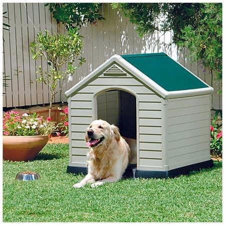 Casa Para Cachorro Buldogue Pug Poodle Labrador Golden Keter - R$ 948 ...
