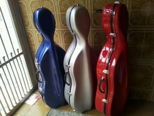 case estojo para violoncelo