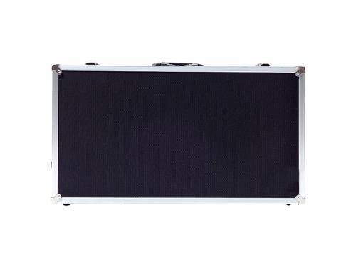 case pedal board para pedais pedaleira boss zoom behringer