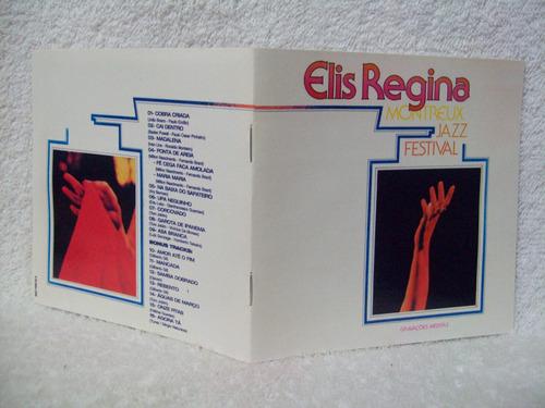 cd elis regina- montreux jazz festival